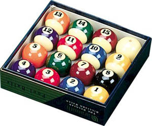 outdoor quality Billiard Balls by allweatherbilliards.com